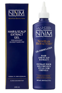 NISIM Hair & Scalp Extract Gel, 240 ml.
