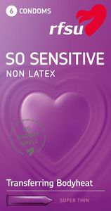 RFSU So Sensitive lateksfritt kondom