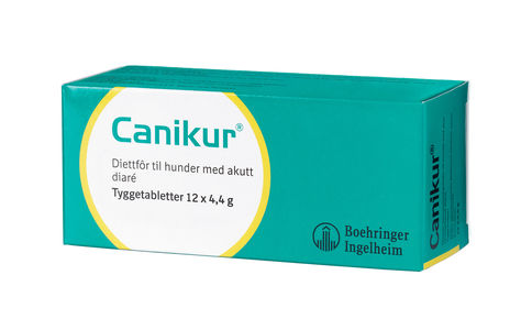 Canikur tyggetabletter 4,4g