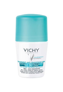 Vichy deo antiperspirant anti-trace 48h roll-on m/parf, 50ml