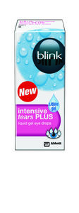 Blink Intensive Tears Plus øyedråper 10 ml