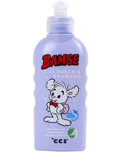 Bamse 2 in 1 Dusj & shampoo 200ml