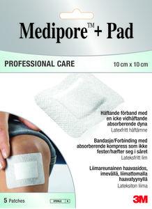 14c1f6d8 Medipore + Pad Professional Care, steril bandasje 10x10cm