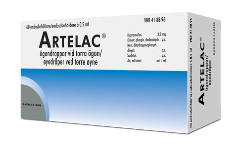 Artelac Øyedr 3,2 mg/ml