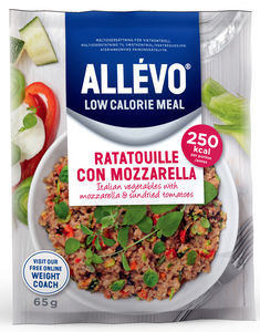 Allévo Low Calorie Meal Ratatouille Mozarella 65 g