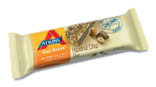 Atkins Day Break Hazelnut Crisp 37 g UTGÅTT
