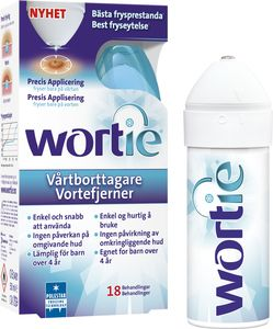 Wortie Vortefjerner 50ml