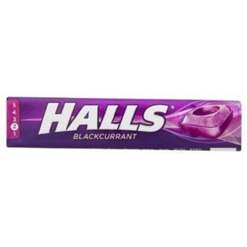 Kjøp Halls Blackcurrant 33,5g på nett   Vitusapotek