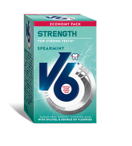 V6 Strong Teeth Spearmint 50stk 70g