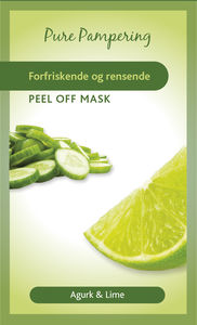 Pure pampering rensende peel off ansiktsmaske 10 ml