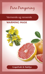 Pure pampering varmende ansiktsmaske 10 ml