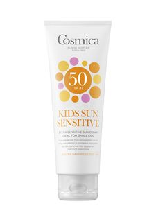 Cosmica Kids Sensitive Sun Cream SPF 50, 125 ml