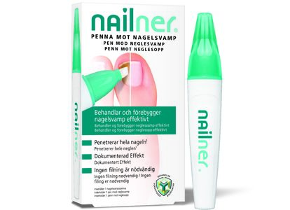 Nailner penn mot neglesopp 4 ml
