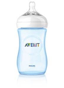 Philips Avent Natural tåteflaske 260ml Blå