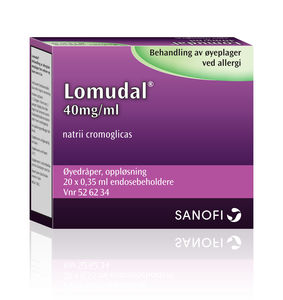 Lomudal Øyedr 40 mg/ml
