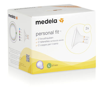 Medela brysttrakt large 27mm 2stk