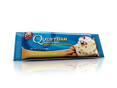Questbar Vanilla Almond Crunch proteinbar 60g