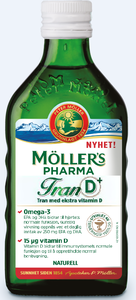 Möller's Pharma Mikstur 250 ml
