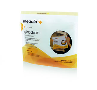 Medela Quick Clean kokepose 5 stk