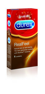 Durex Real Feel kondomer 6 stk