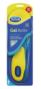Scholl Gel Active Everyday Comfort såler for menn 1 par
