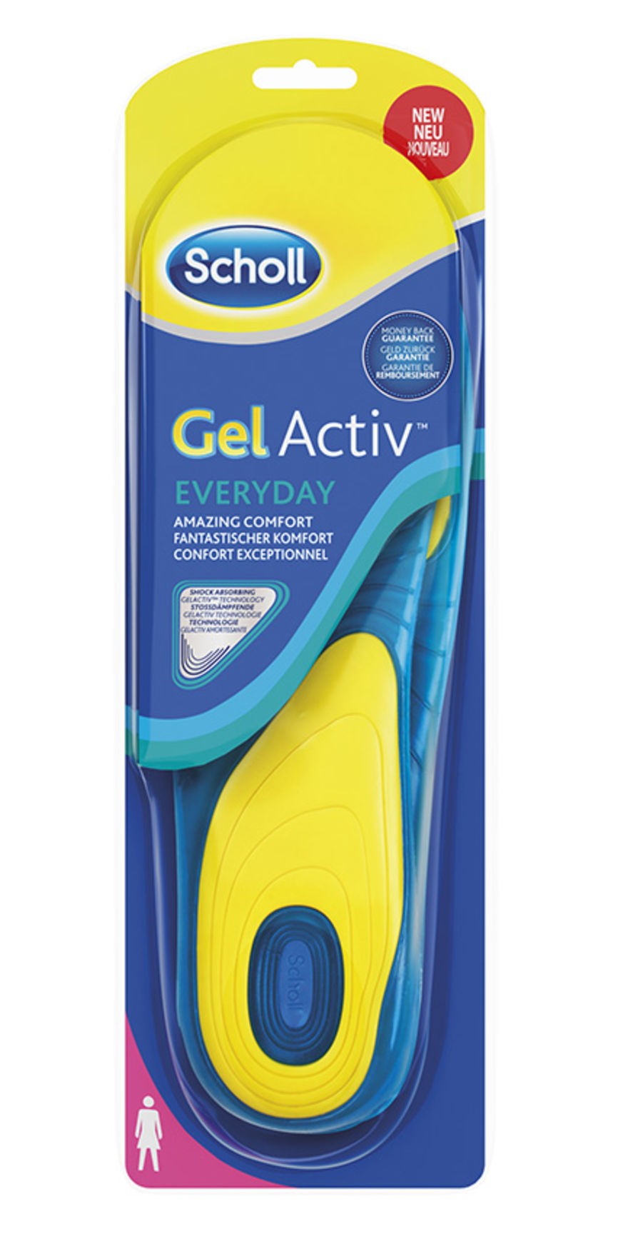 067fb934 Kjøp Scholl Gel Active Work Comfort såler for kvinner 1 par på nett |  Vitusapotek