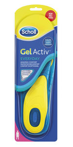 Scholl Gel Active Work Comfort såler for kvinner 1 par
