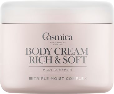 Cosmica Body Cream Rich & Soft 200 ml
