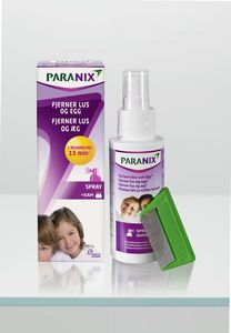 Paranix spray med kam