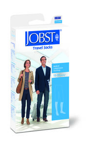 JOBST Travel Socks Kne Sort 5 str 45/46