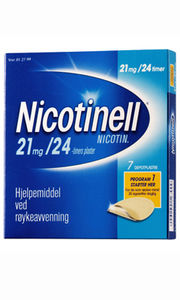 Nicotinell Depotplaster 21 mg/24 timer
