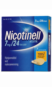 Nicotinell Depotplaster 7 mg/24 timer