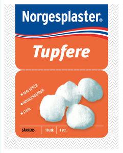8ac18343 Norgesplaster sterile tupfere 10 stk