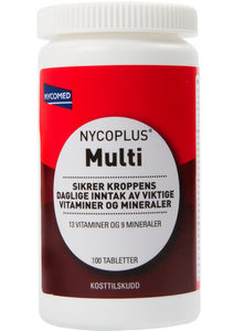 Nycoplus Multi 100 tabletter