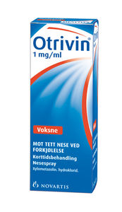Otrivin Nesespray 1 mg/ml