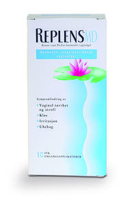 Replens MD Hormonfri Vaginalgel 10 stk