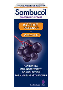 Sambucol Active Defence Mikst 0,32 g/0,26 mg/6,7 mg
