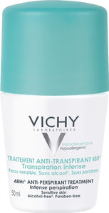 Vichy roll-on deo antiperspirant med parfyme 48h,  50 ml