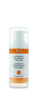 REN glycolactic skin renewal peel mask 50ml