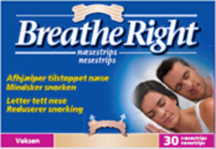 Breathe Right Nesestrips 30 stk