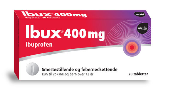 Ibux Tabletter 400 mg