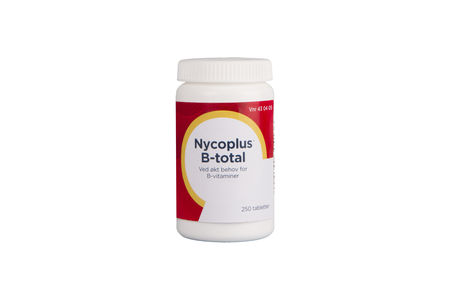 Nycoplus B-total 250 tabletter