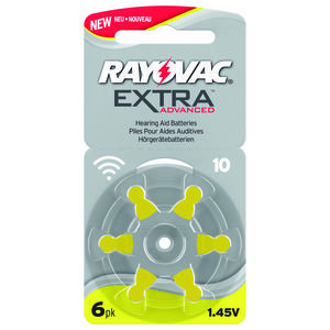 Rayovac Extra Advanced batteri 10 - 6 stk