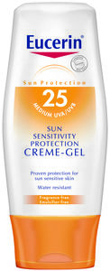Eucerin Sun Sensitivity Cream Gel SPF25 150ML