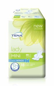 TENA Lady Mini Wings, 18 stk