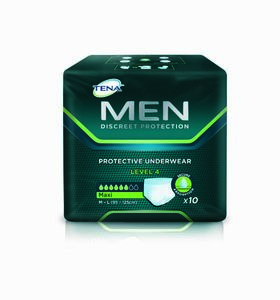 TENA Men Protective Underwear Level 4, M/L (95-125 cm), 10 stk
