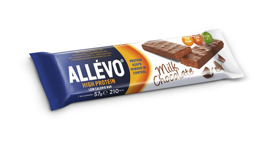 Allévo Low Calorie Bar High Protein Milk Chocolate 57 g