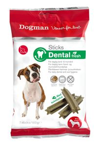 Dogman sticks dental fresh M/L7 stk