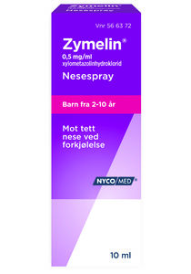 Zymelin Nesespray 0,5 mg/ml