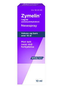 Zymelin Nesespray 1 mg/ml